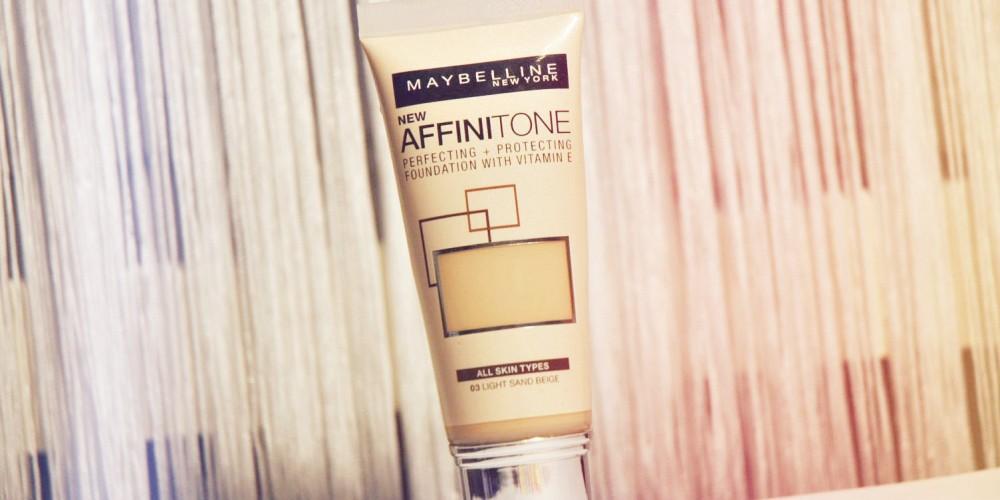 Ny foundation Maybelline Affinitone